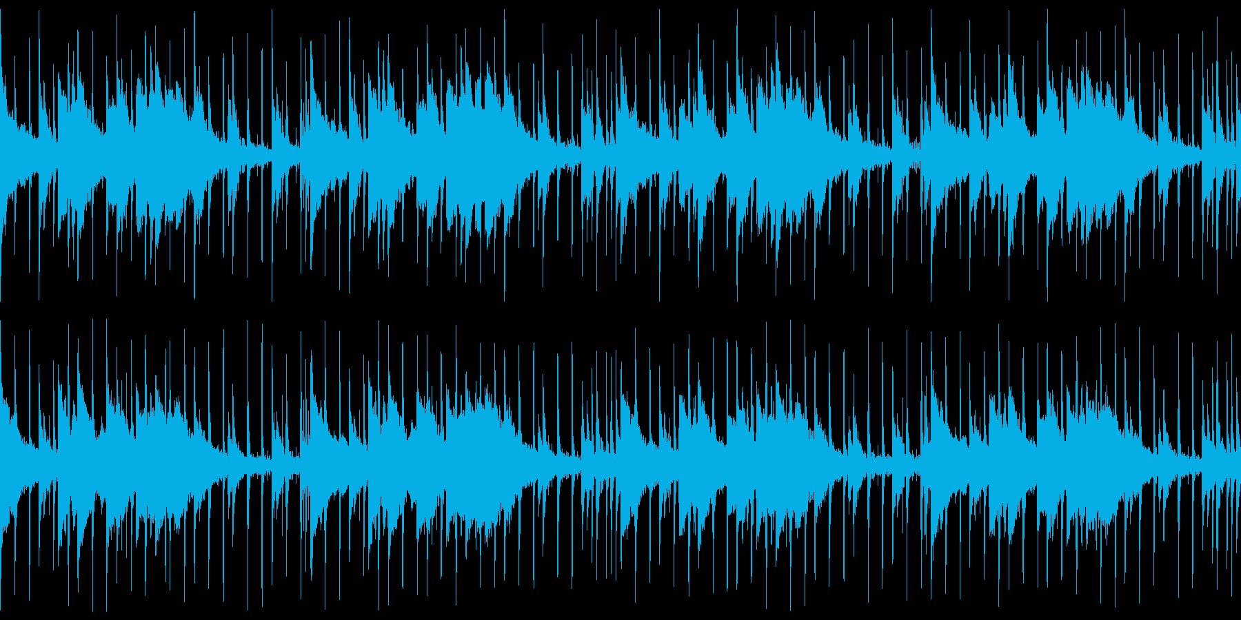 インドパーカッションとシタール アップの再生済みの波形