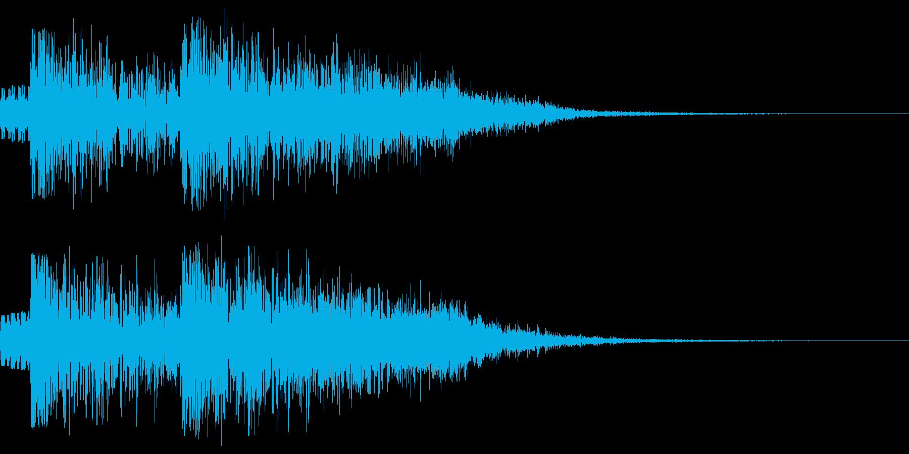 覚悟を決める時の効果音 勝負前 の再生済みの波形