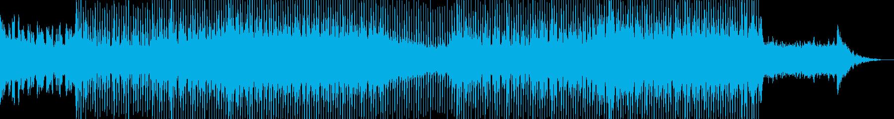 EDMクラブ系ダンスミュージック-03の再生済みの波形
