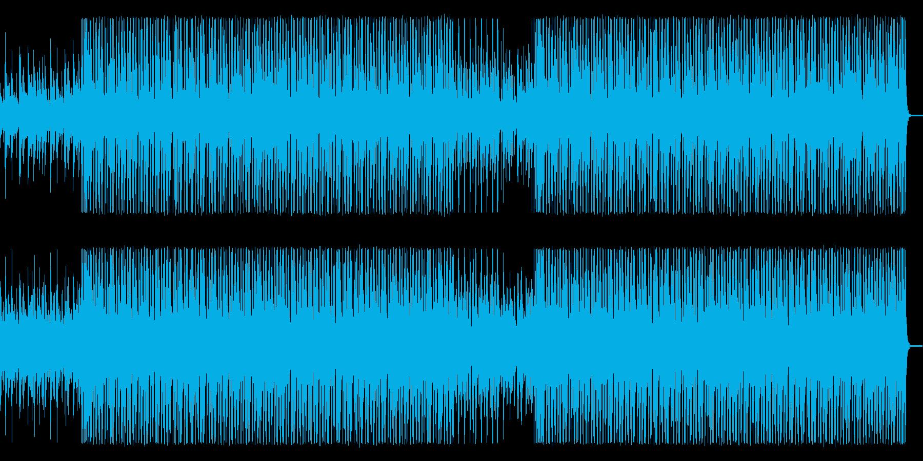 【メロディ抜き】木琴とウクレレの軽快な…の再生済みの波形