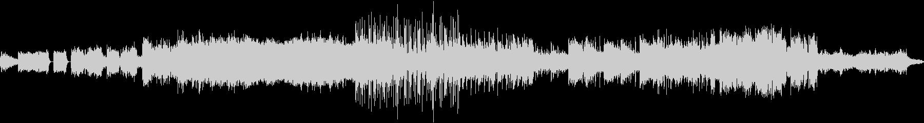 パワフル、色鮮やかでヘヴィなメタル交響曲の未再生の波形