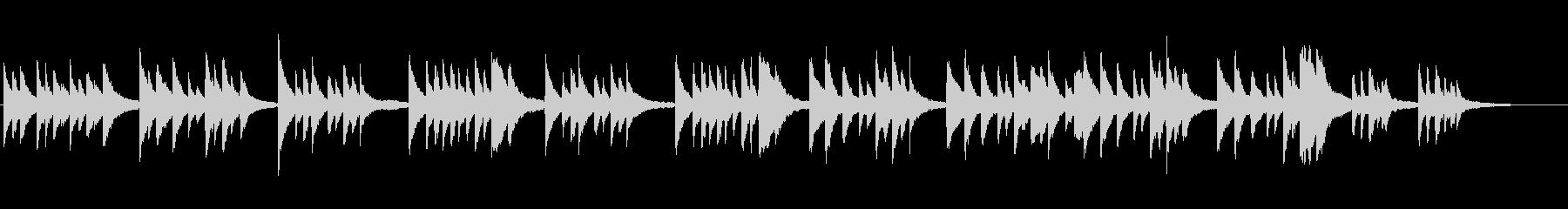 雅な雰囲気の日本的な曲[piano]の未再生の波形