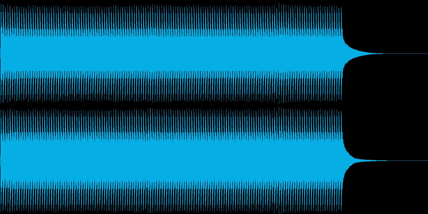ジリリリ...。目覚まし時計の音(長め)の再生済みの波形
