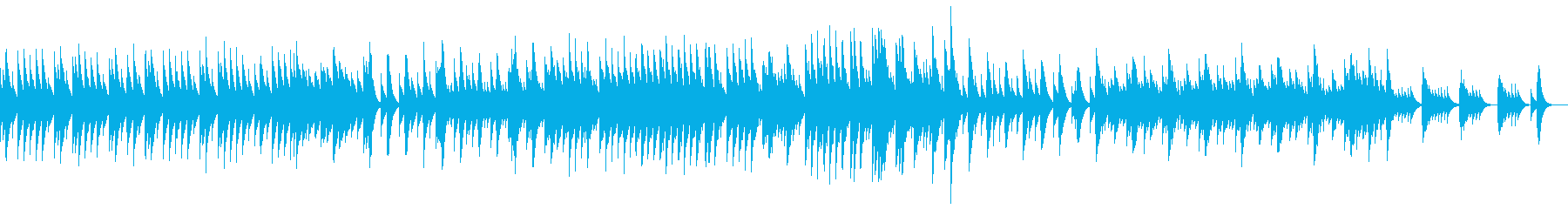 五日間の世界 音色1【優しいオルゴール】の再生済みの波形