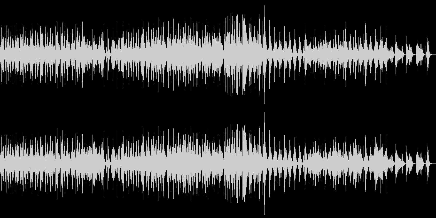 五日間の世界 音色1【優しいオルゴール】の未再生の波形