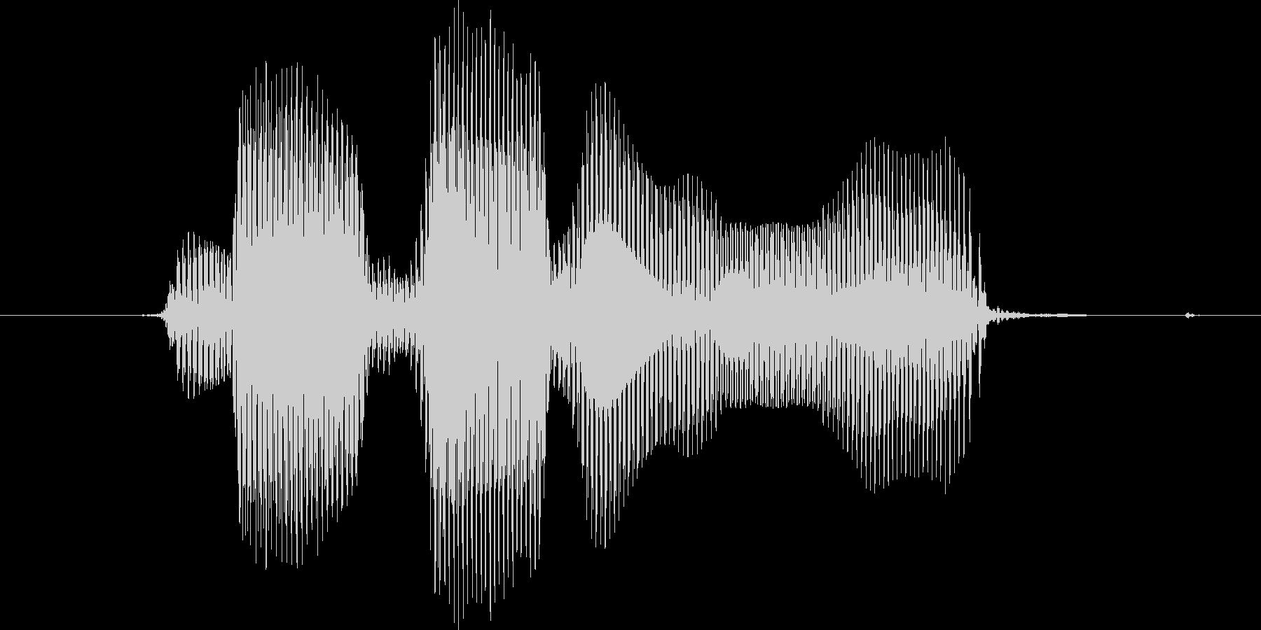 レベル2(に)の未再生の波形