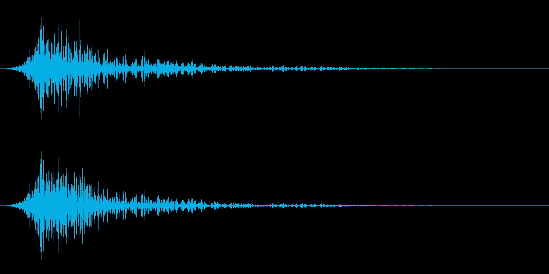 炎魔法/威力小/ファイアの再生済みの波形
