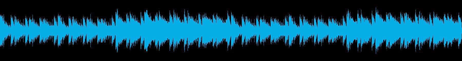 【主張しない背景音楽】ゲーム1【ループ】の再生済みの波形