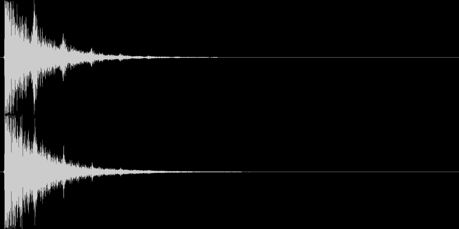 キランキランキラン…(回想前、振り返り)の未再生の波形