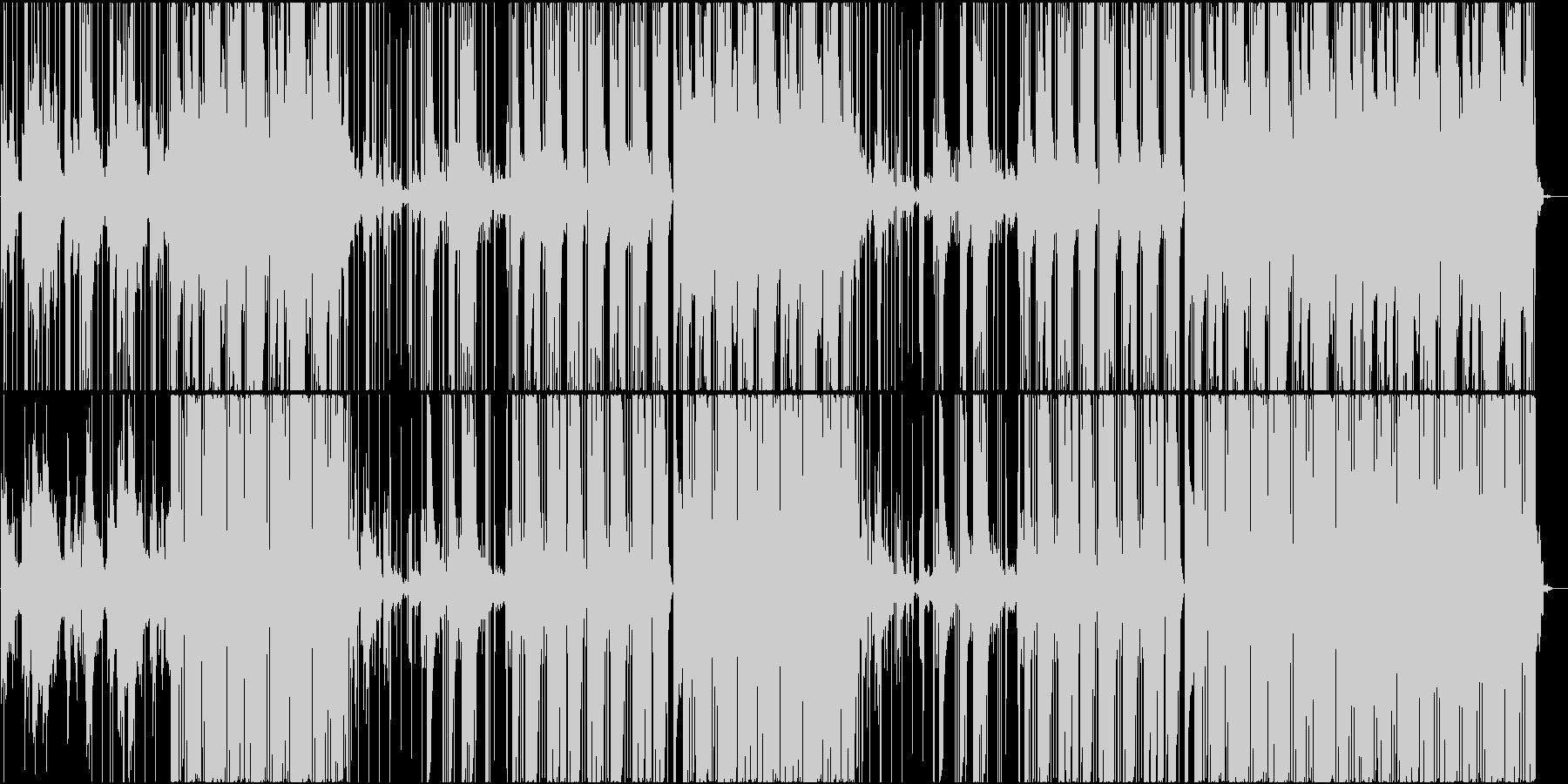 雰囲気のある黒いTrapビートの未再生の波形