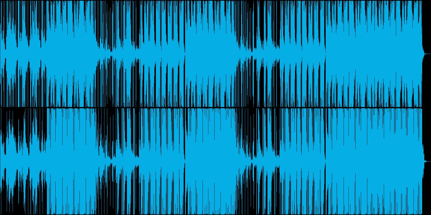 雰囲気のある黒いTrapビートの再生済みの波形