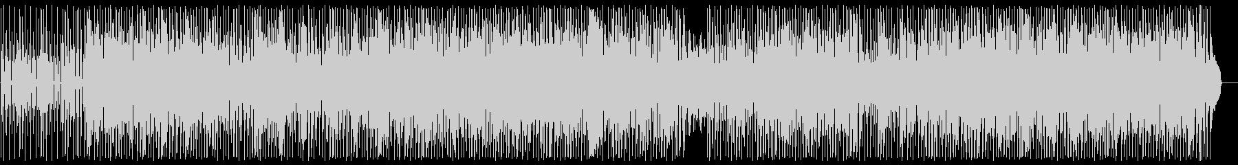 スネアの効いたシンセサイザーの曲の未再生の波形