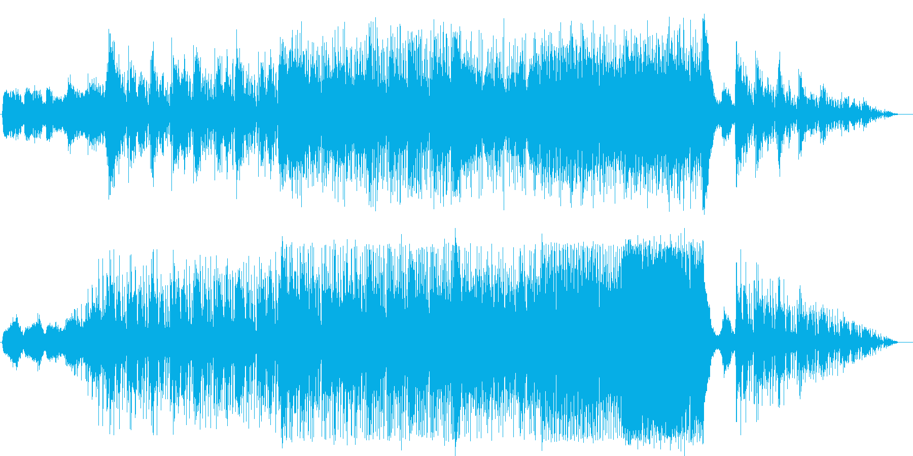 ファンタジーRPGの火山等炎をテーマに…の再生済みの波形