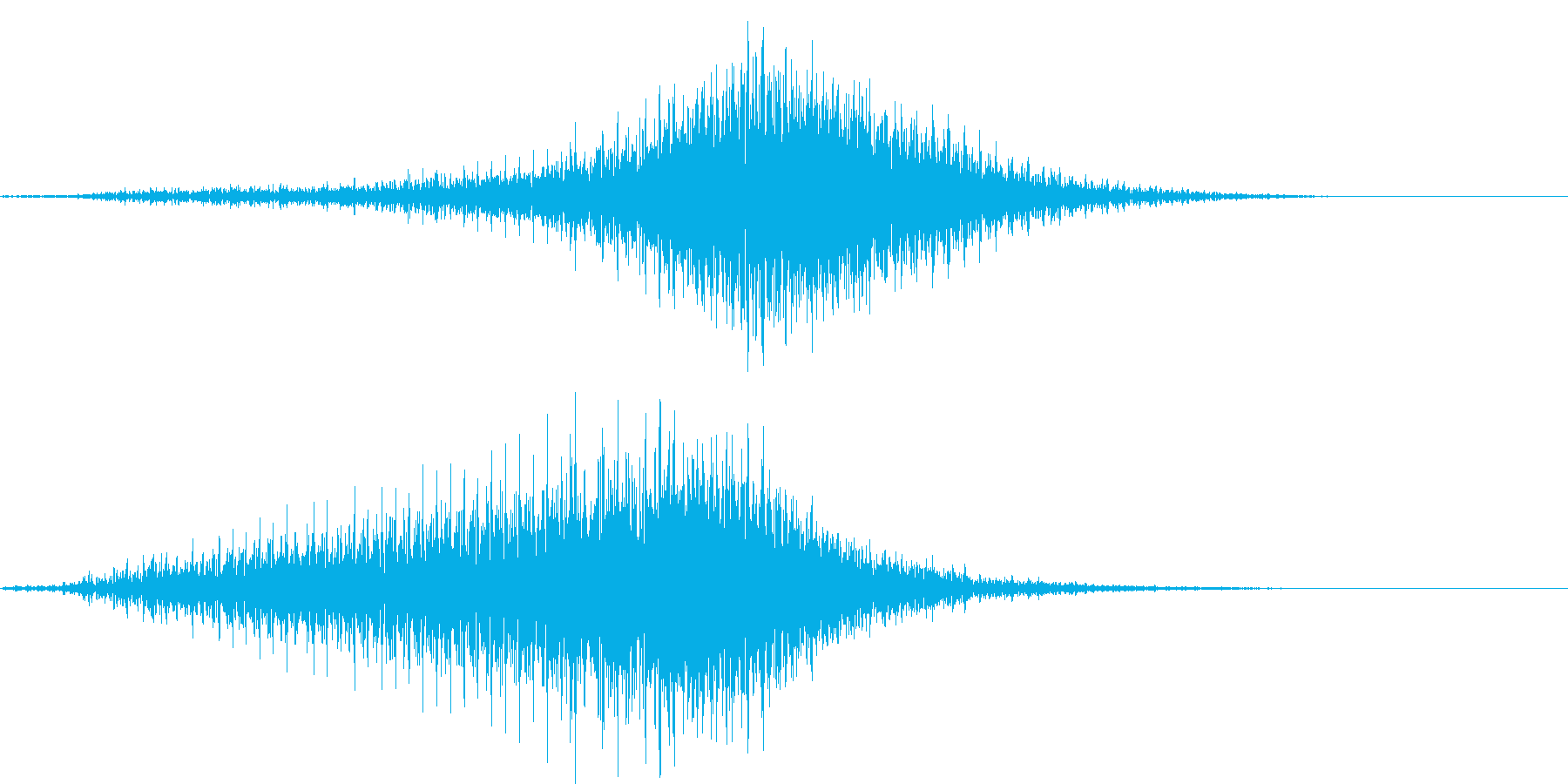 【輸送機】ブルブル,バラバラ 右から左の再生済みの波形