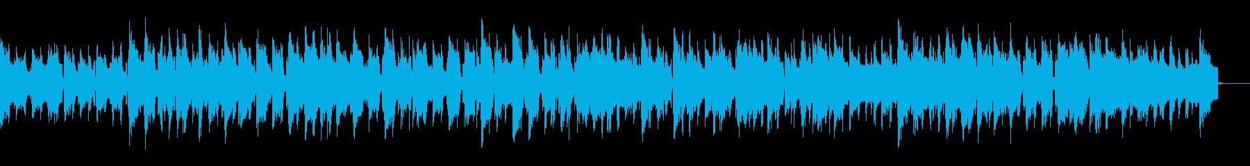 怪しく愛を語り合うピアノのバラードジャズの再生済みの波形