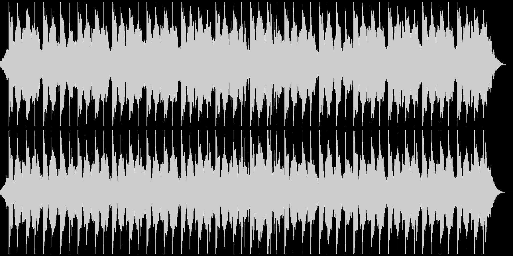 躍動感,オシャレCM、ドラム&ギター無しの未再生の波形