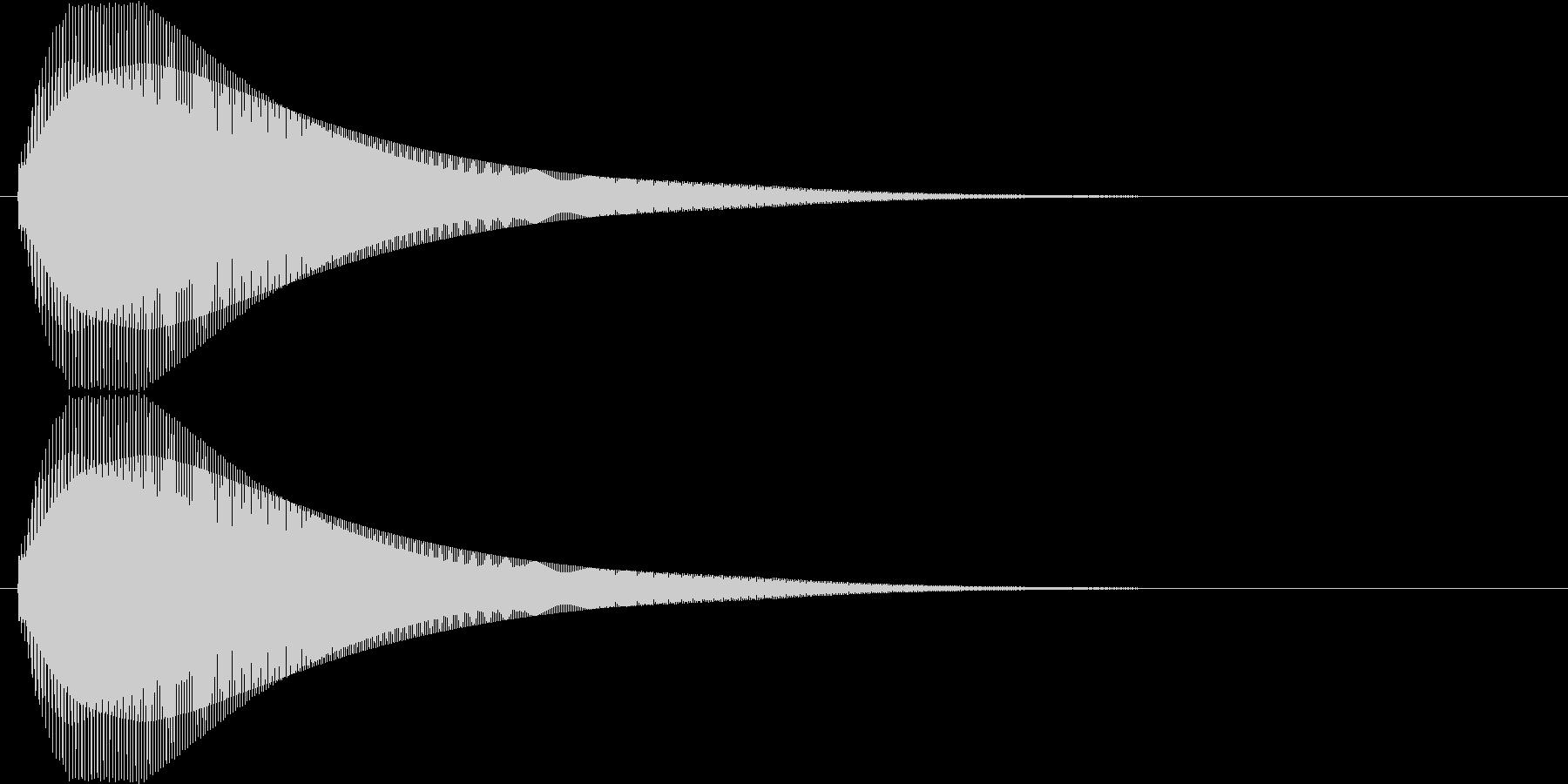 【ピヨーン】ファミコン系ジャンプ音_05の未再生の波形