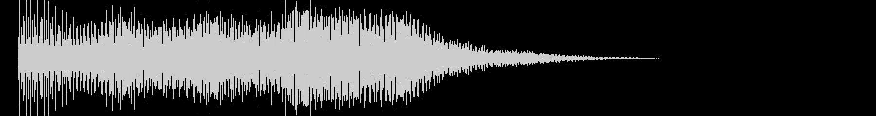 テロリラン_ベル(スロットでの確定音)の未再生の波形