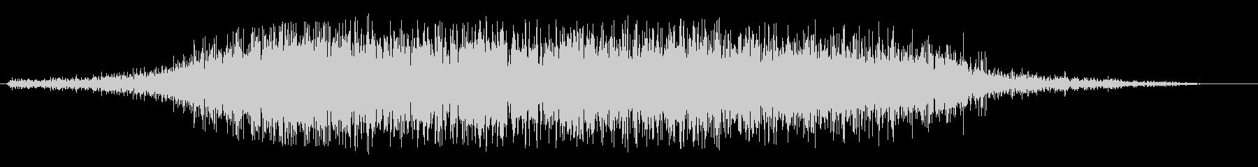 ブワーンとしたタイトルアップ音の未再生の波形