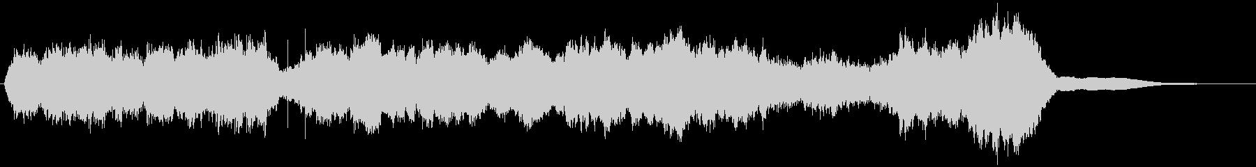 四声体基準のシンプルなストリングスBGMの未再生の波形