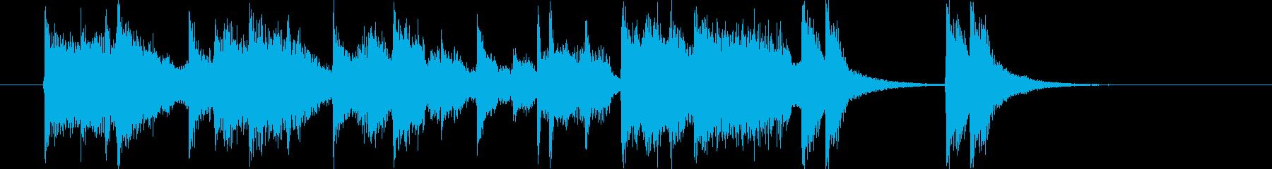 ムーディーでメローなトランペットジングルの再生済みの波形