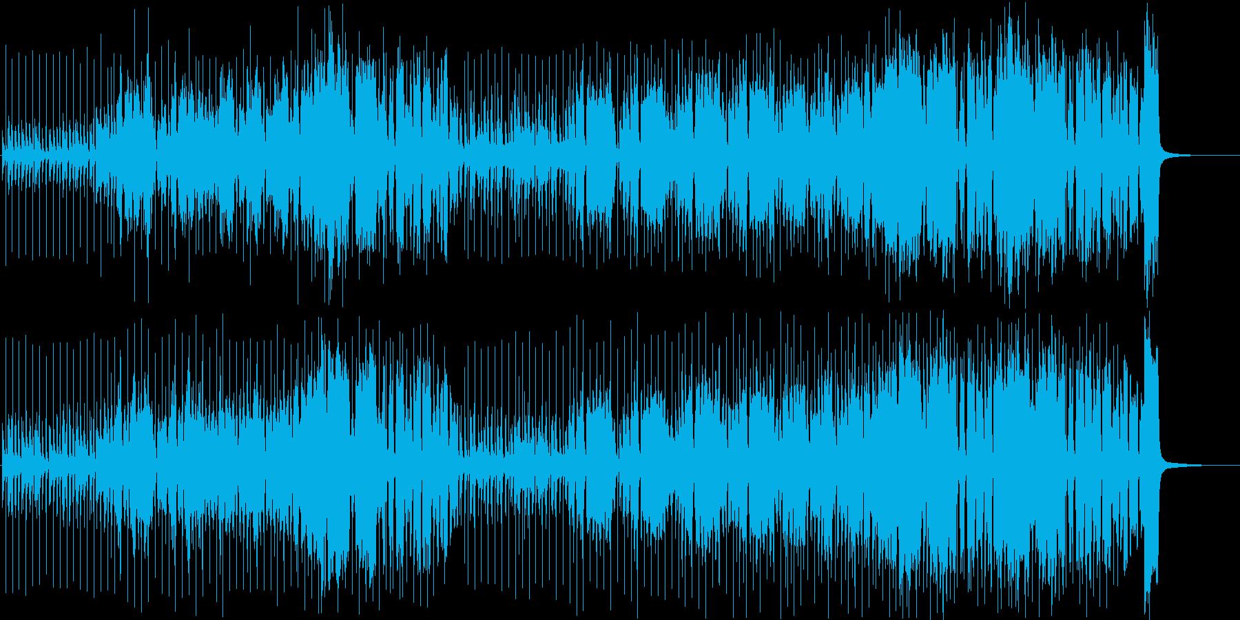 【ポップ】明るい・元気・トロピカルの再生済みの波形