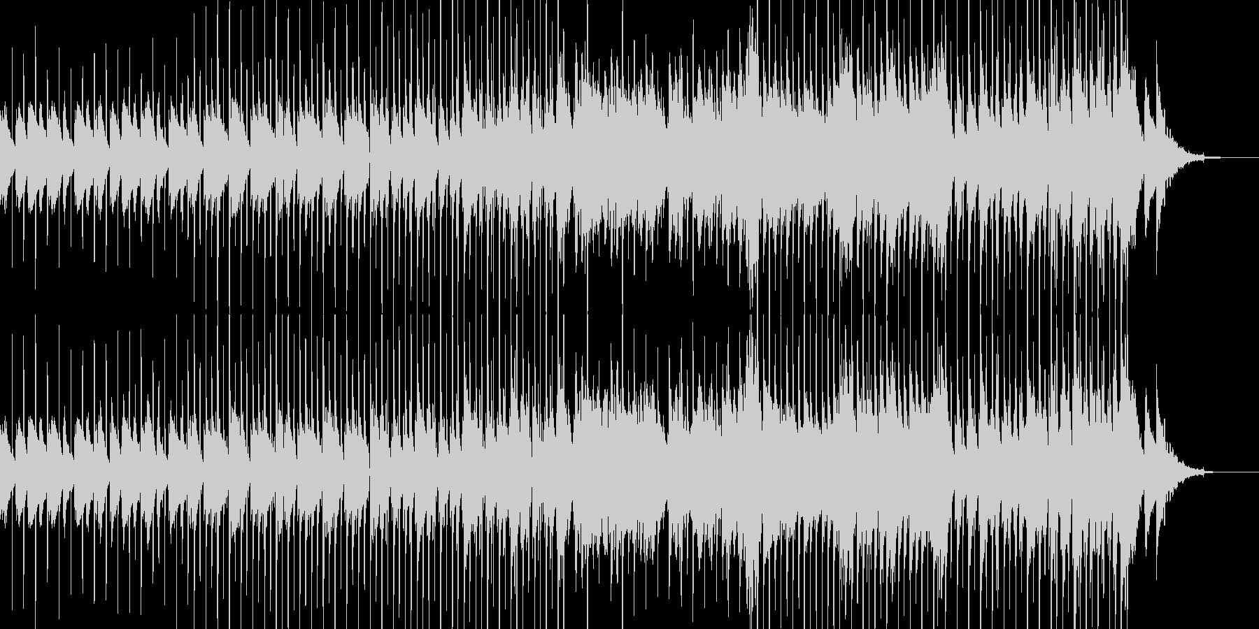密かに忍び込むイメージの未再生の波形