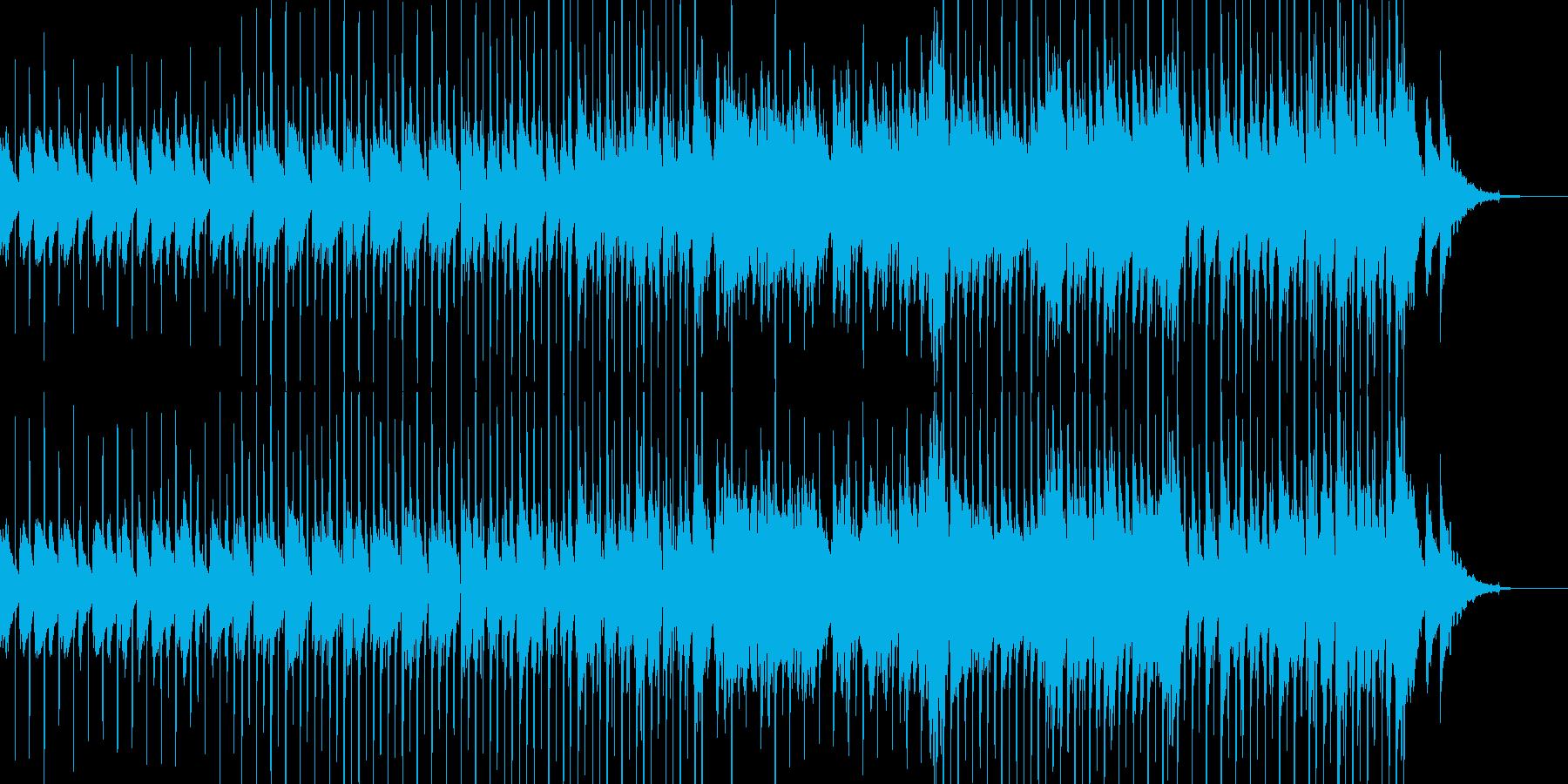 密かに忍び込むイメージの再生済みの波形