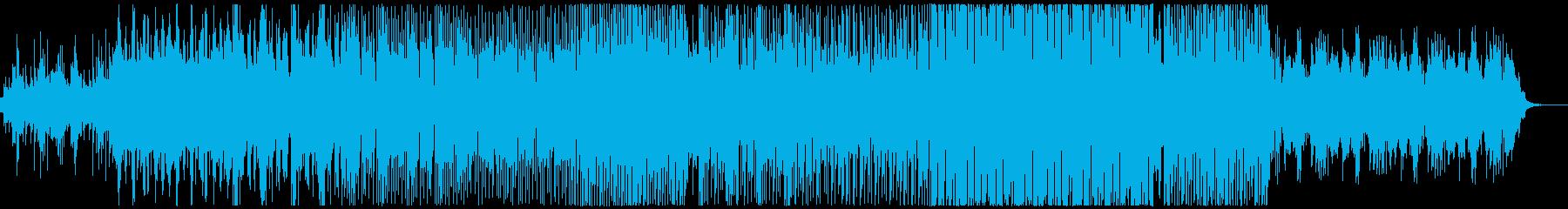EDM風ハロウィーンパーティーの再生済みの波形