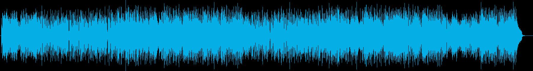 軽やかアーバンなシンセピアノサウンドの再生済みの波形