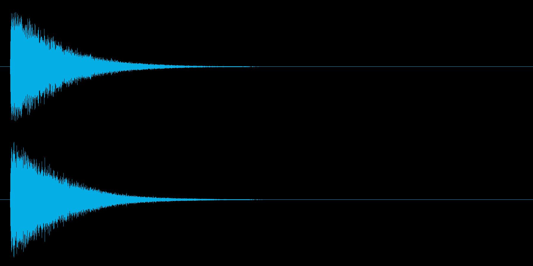 ガシーン(軽め、鉄系)の再生済みの波形