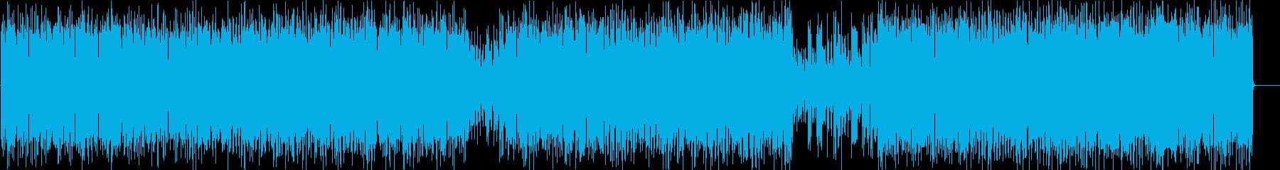 リゾート 陽ざし 青空 ラテンの再生済みの波形