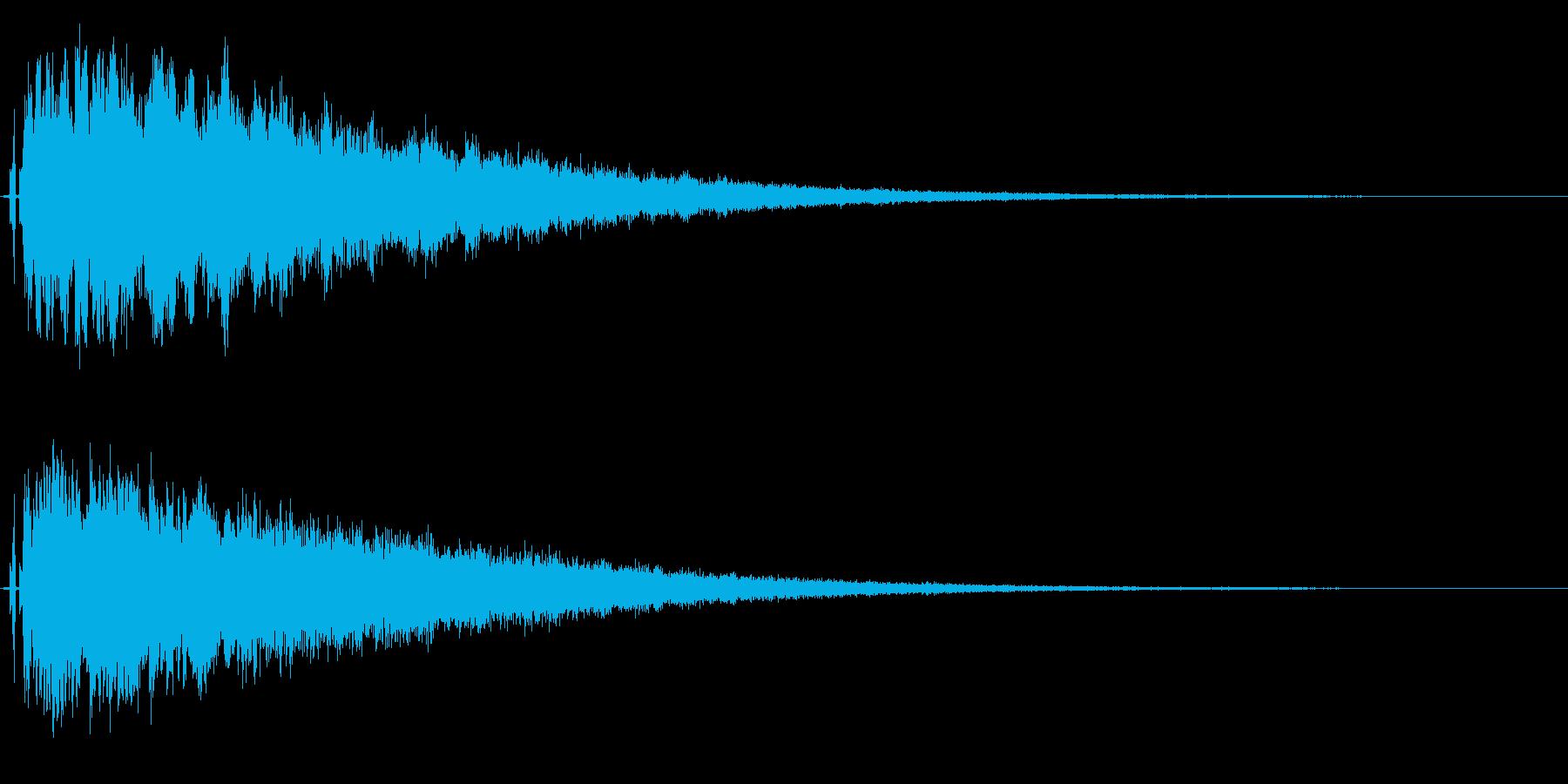 シャキーン♪回復,神秘的な魔法に最適03の再生済みの波形