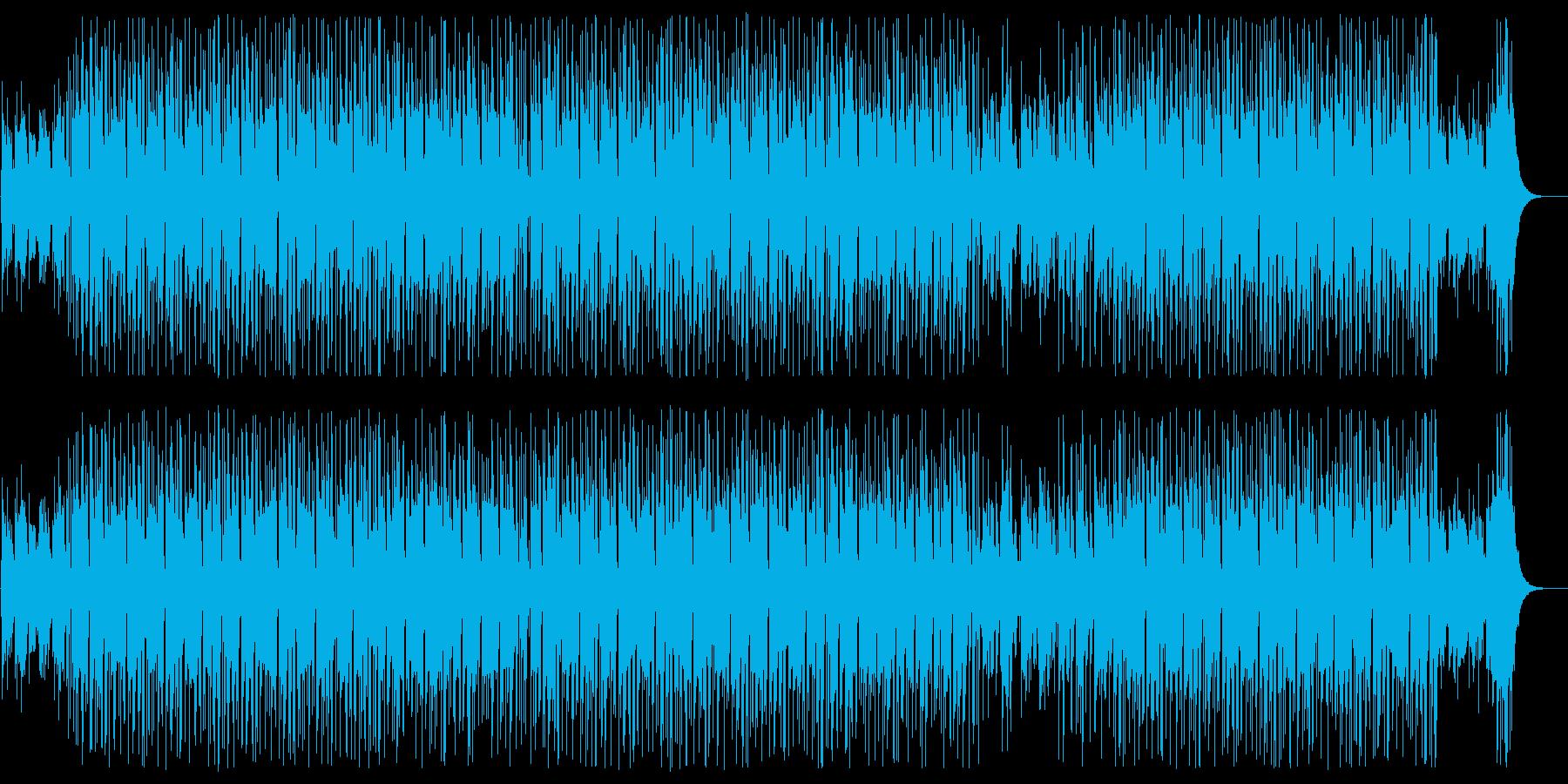 【動物用】すやすや眠るハムスターの歌の再生済みの波形