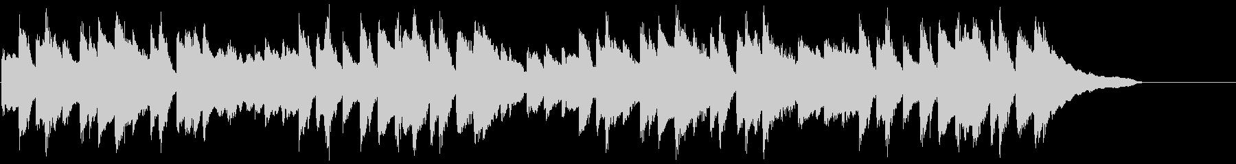 ネットCM 30秒 ソロピアノ 日常の未再生の波形