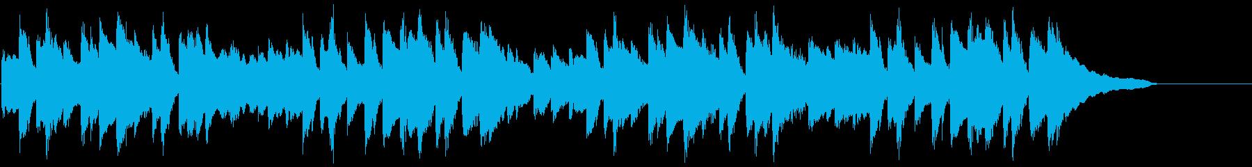 ネットCM 30秒 ソロピアノ 日常の再生済みの波形