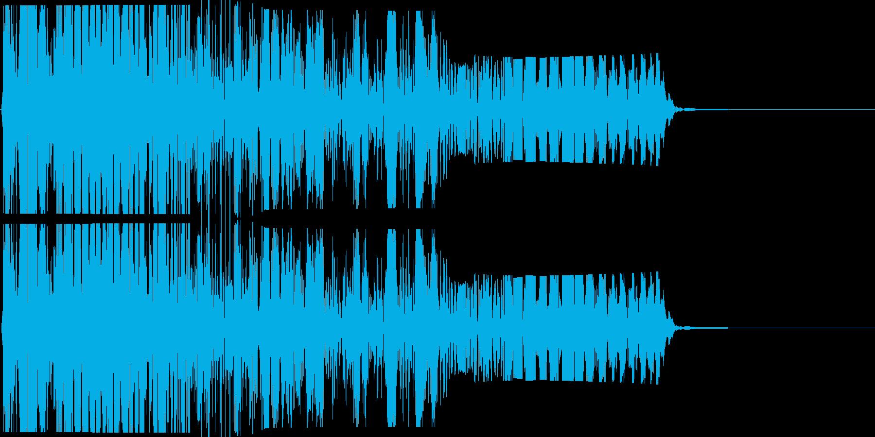 ズバッと斬る_02(刀・刺す・斬撃系)の再生済みの波形
