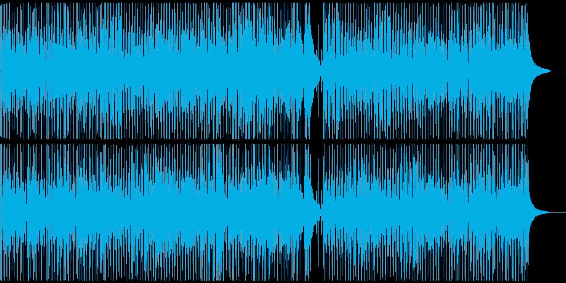 CMや映像にギター すれ違う気持ちと衝突の再生済みの波形