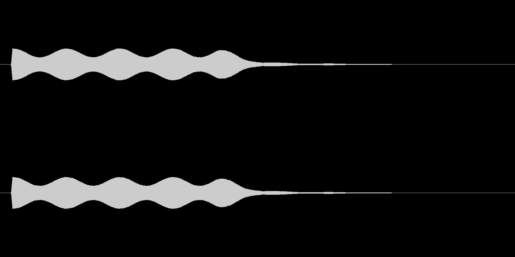 【場面効果音17-1】の未再生の波形