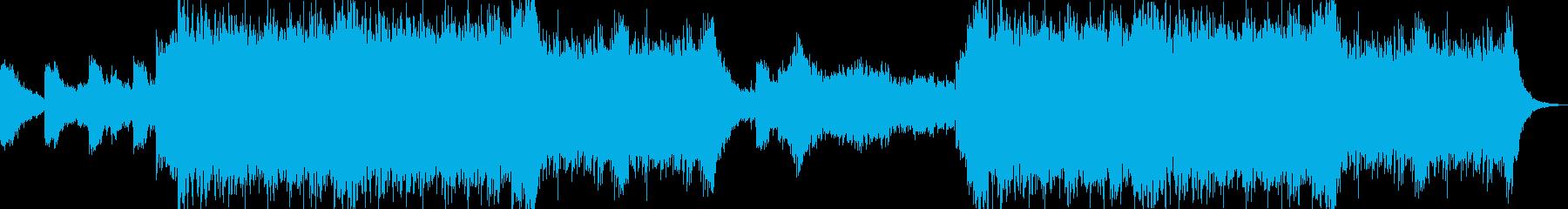 オーケストラ_クワイア_疾走感の再生済みの波形