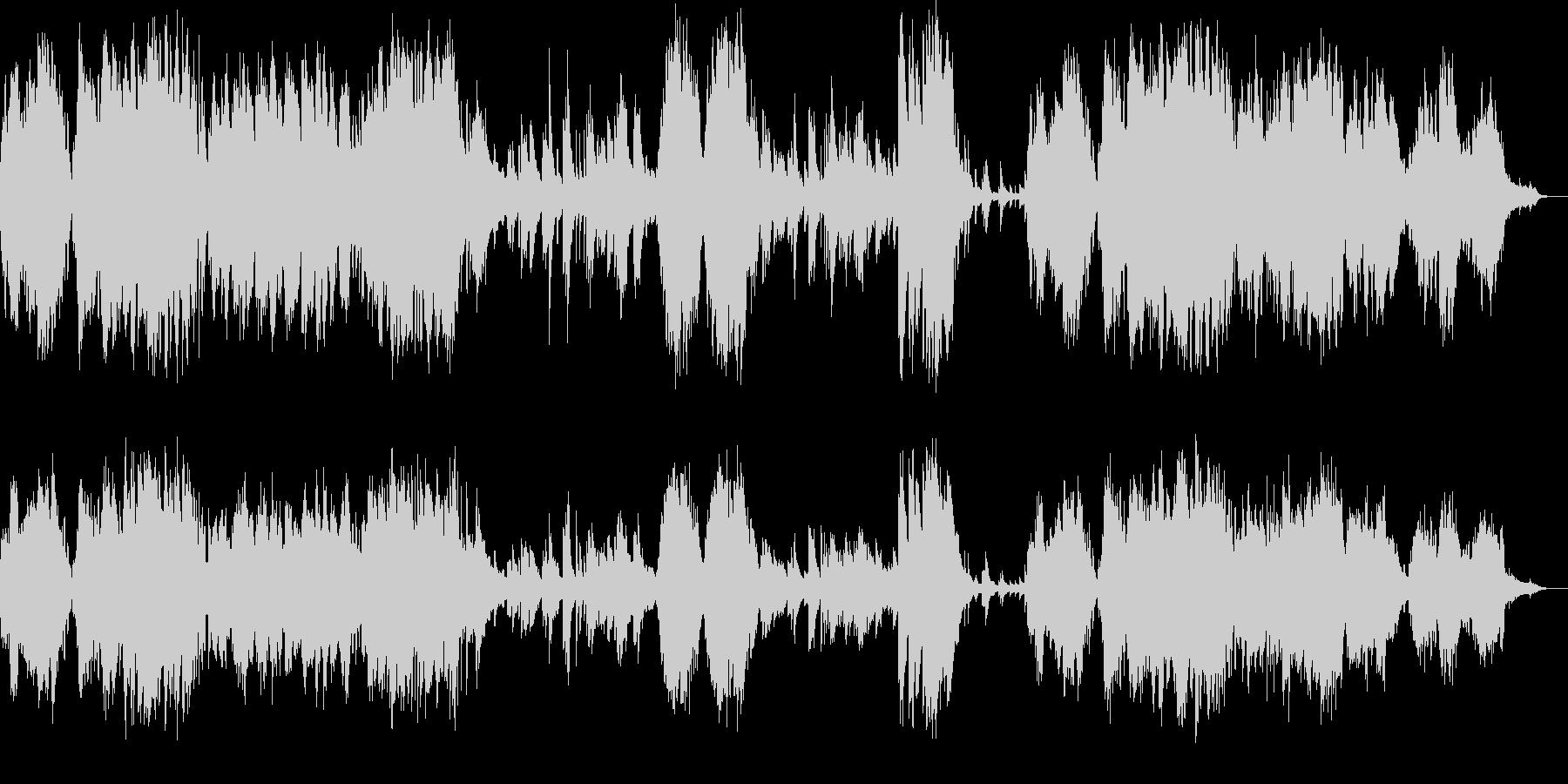 クロード・ドビュッシー初期のピアノ作品の未再生の波形