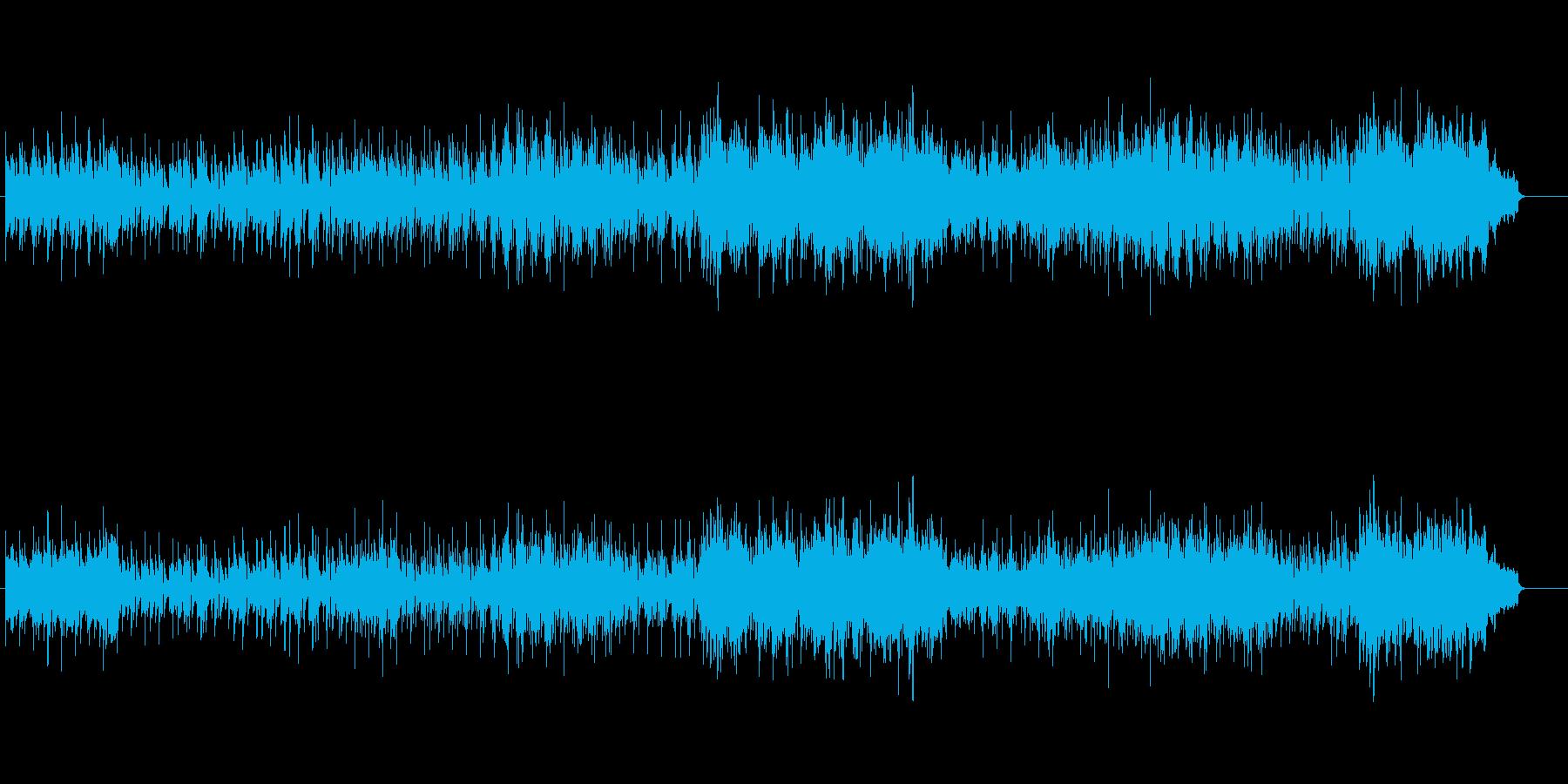 ゴージャスなピアノ・フュージョンの再生済みの波形