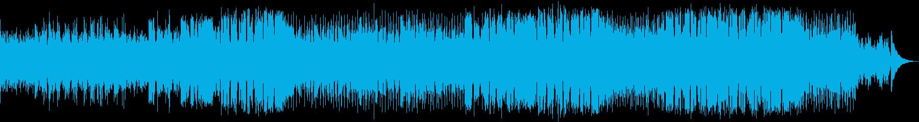 柔らかな雰囲気のポップスの再生済みの波形