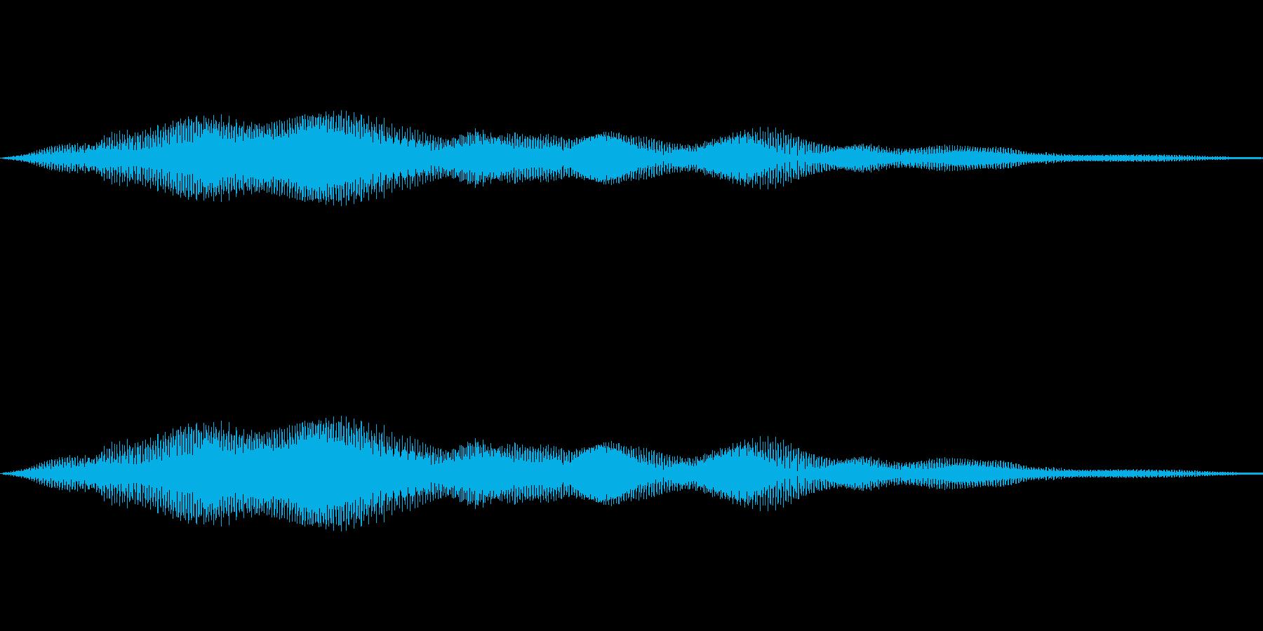 ヒーン(光テロップ)の再生済みの波形