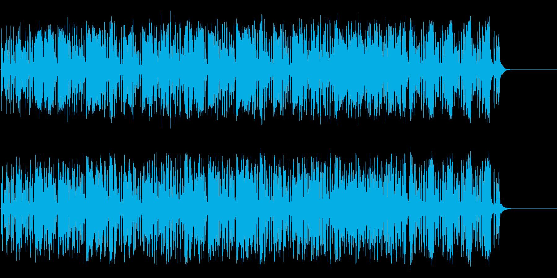 晴れやかでゆったりとしたポップ/マーチの再生済みの波形
