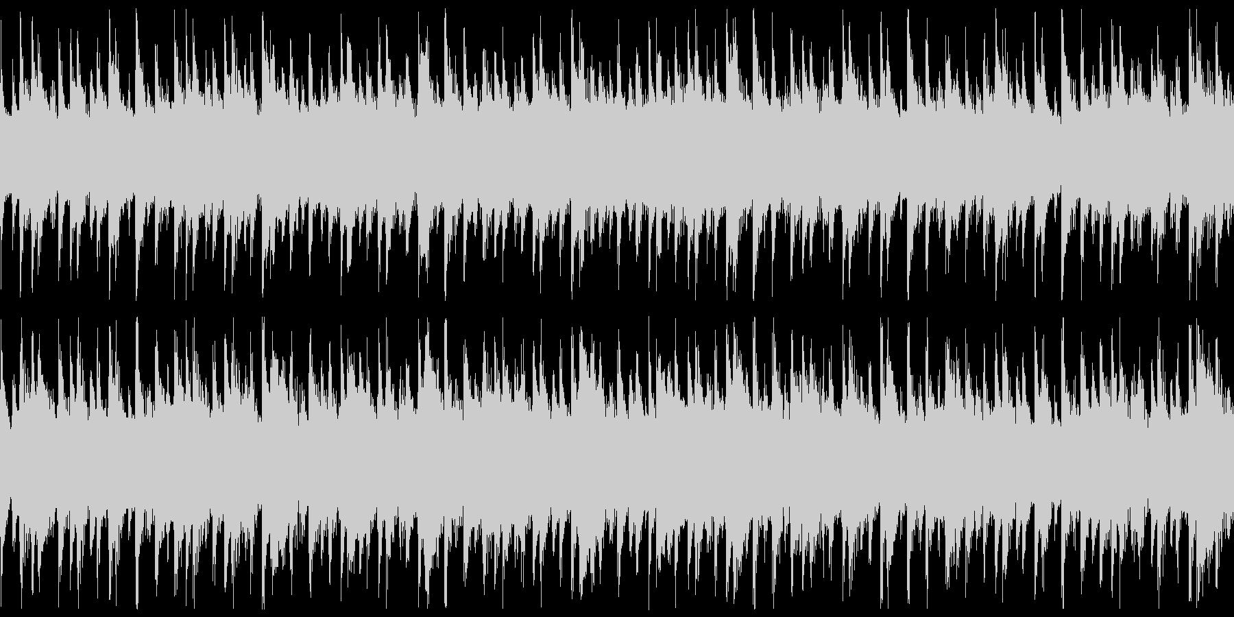 西アフリカ リュート型弦楽器 アップ1の未再生の波形