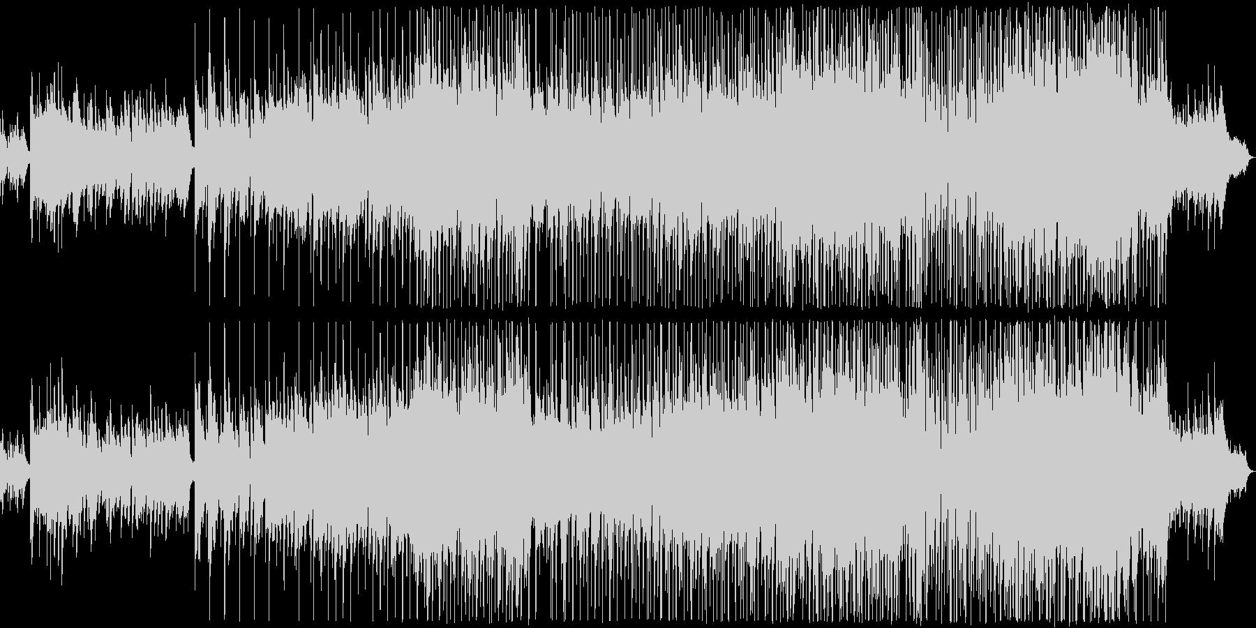 優しい雰囲気のバラード2の未再生の波形