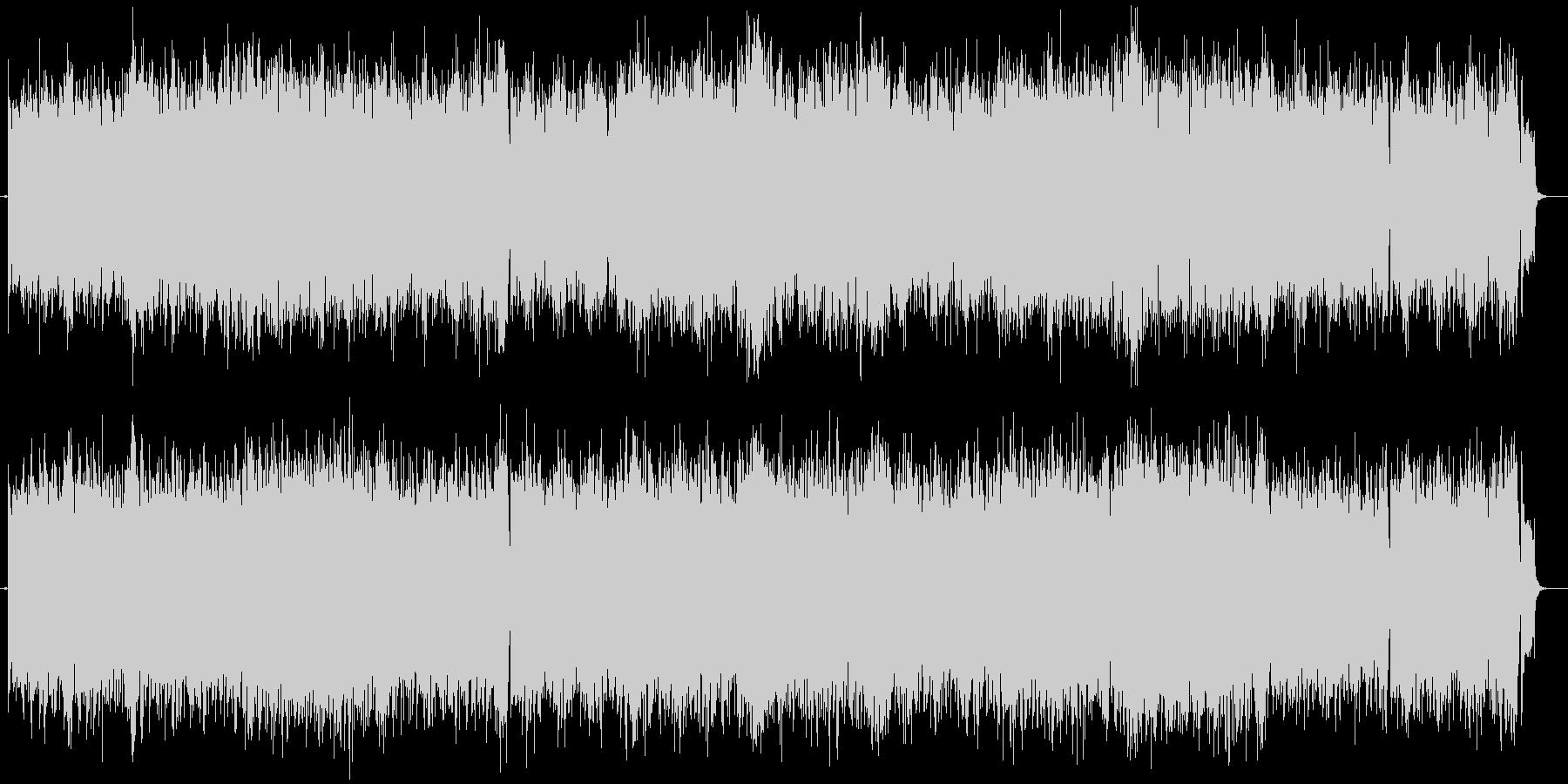 アイルランド音楽のリールセッションの未再生の波形