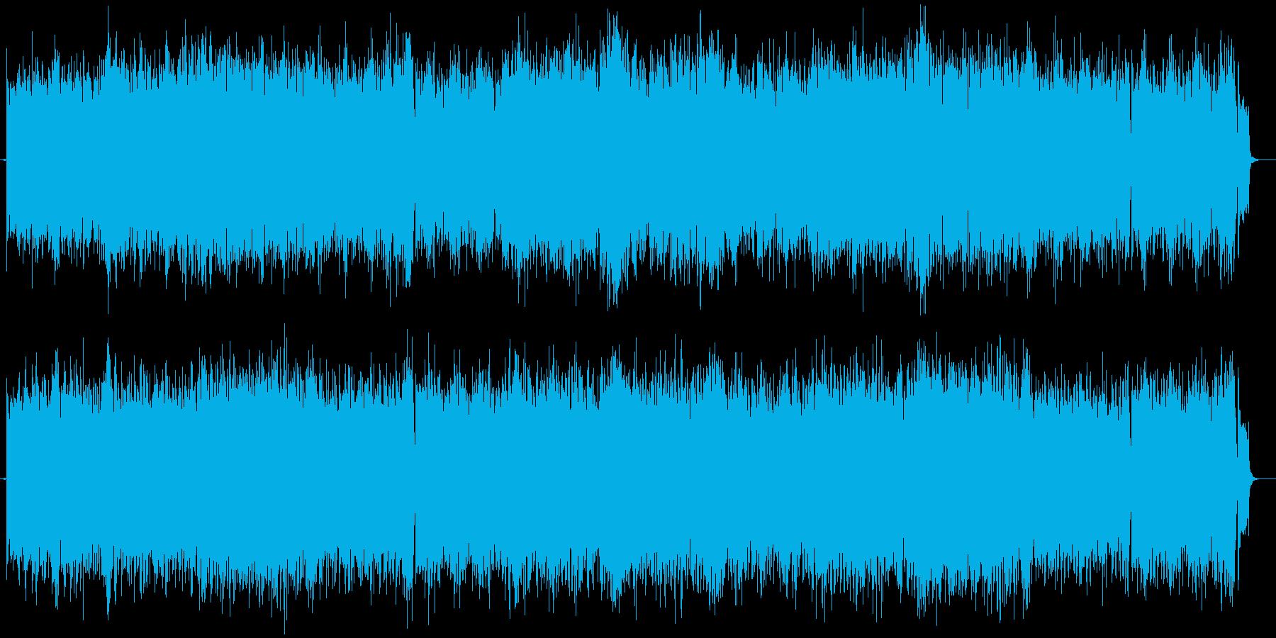 アイルランド音楽のリールセッションの再生済みの波形