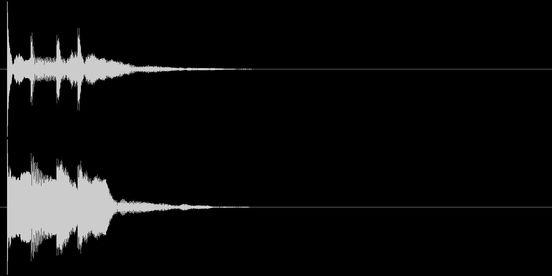 汎用 近未来系10(連) セリフ音の未再生の波形